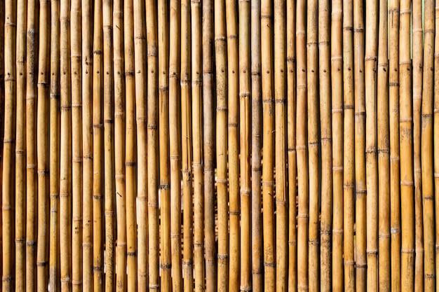 Sfondo muro di bambù