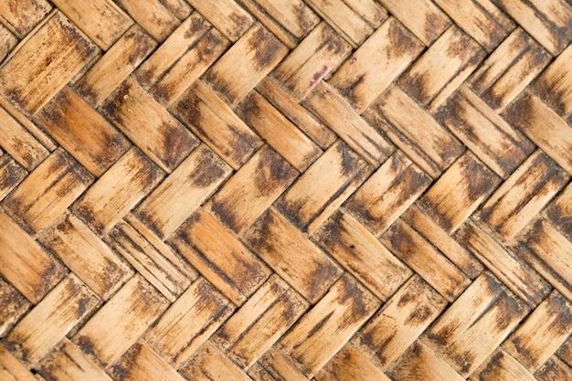 Modello di tessitura di bambù