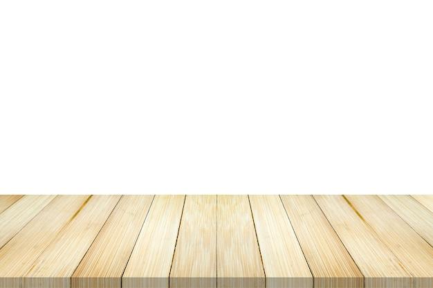 Priorità bassa di struttura della parete della plancia di legno di bambù