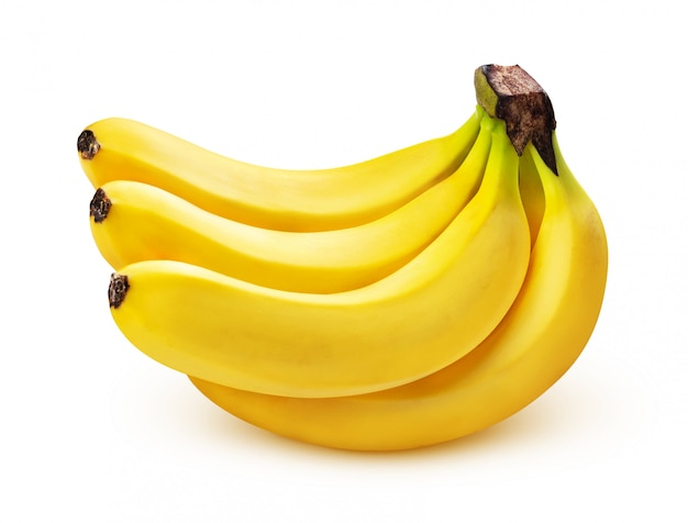 Mazzo di banane isolato