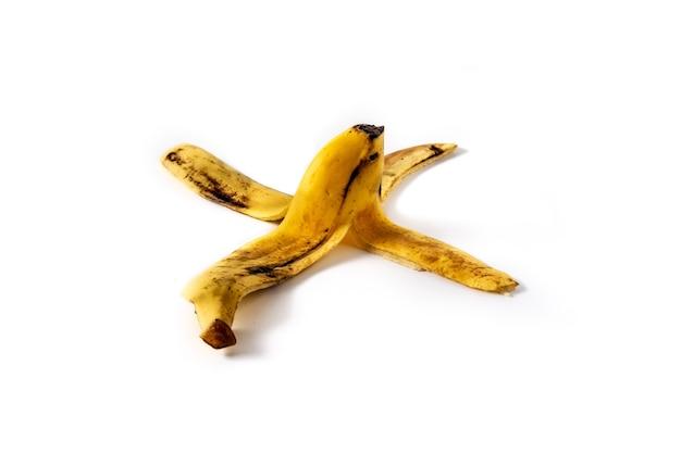 Buccia di banana isolata
