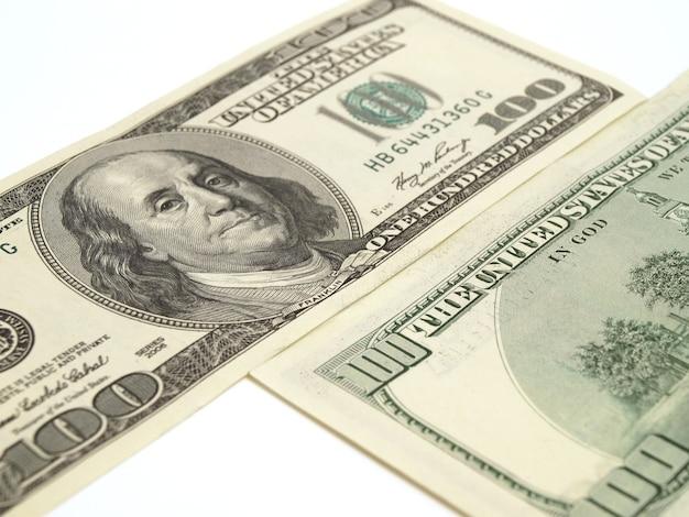 Banconote di dollari americani