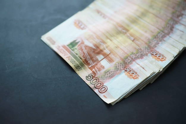 Banconote con la scritta