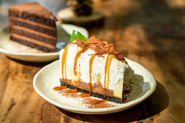 Torta banoffee al caramello