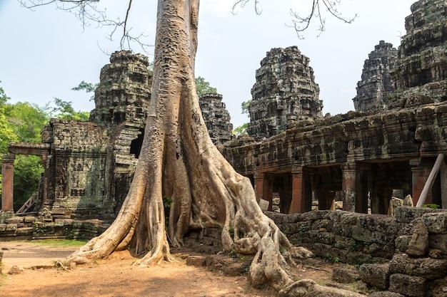 Tempio di banteay kdei a angkor wat, in cambogia
