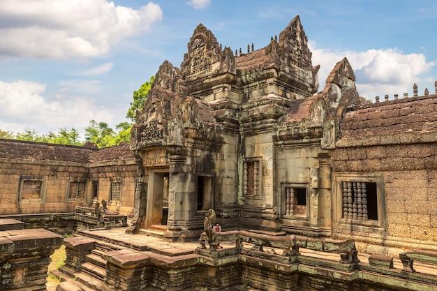 Tempio di banteay samre in angkor wat a siem reap, cambogia