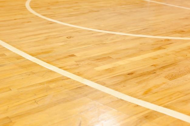 Linea di parquet in legno per campi da basket pavimento in legno duro