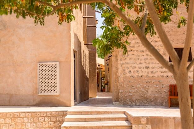 Vecchio quartiere di bastakiya a dubai
