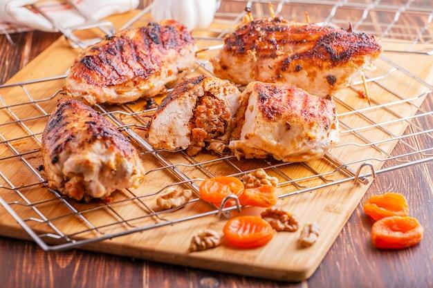 Petti di pollo bbq