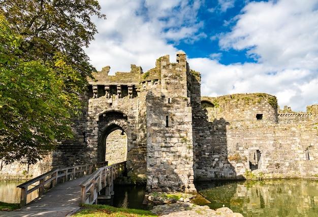Beaumaris castle, patrimonio mondiale dell'unesco in galles, gran bretagna
