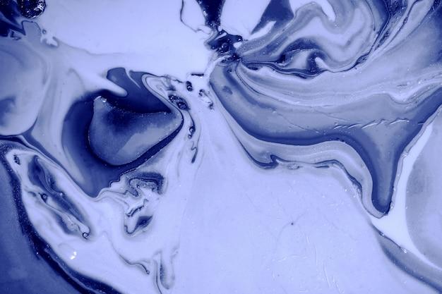 Bellissimo sfondo astratto blu scuro lo stile di colore scuro incorpora i turbinii