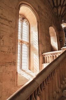 Bella architettura christ church cathedral a oxford, regno unito