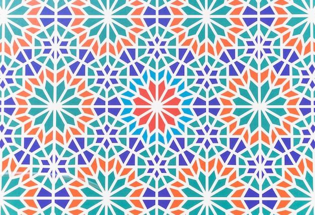Bella architettura in stile marocchino