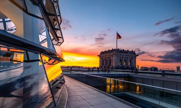 Bella architettura del reichstag