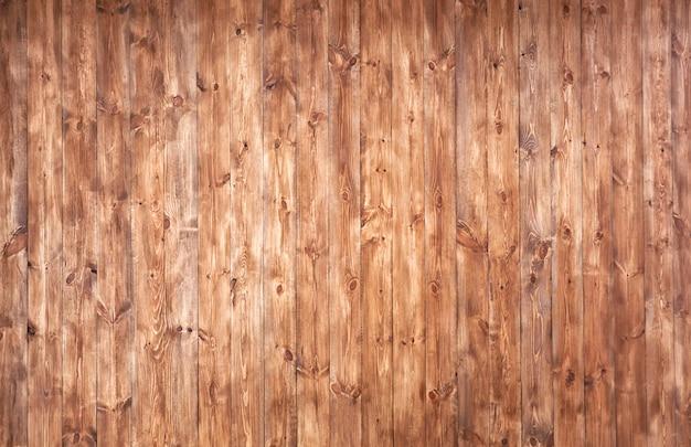 Il bellissimo sfondo di molte assi di legno marrone