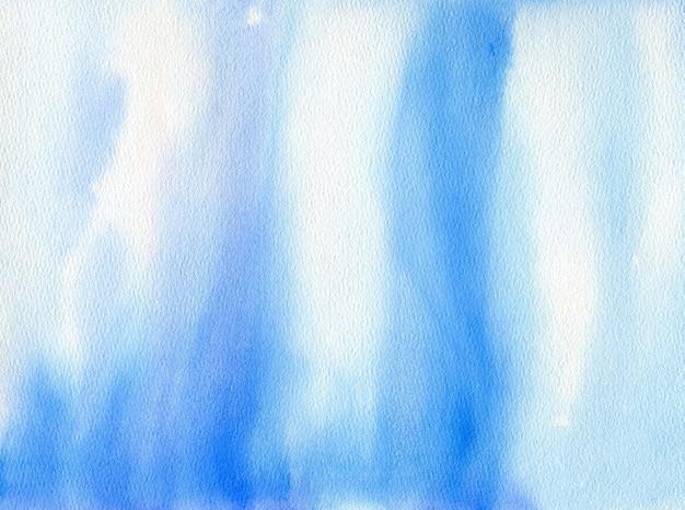 Bellissimo sfondo acquerello blu. illustrazione dell'oceano disegnata a mano. blu sott'acqua. vita marina. sfondo d'acqua