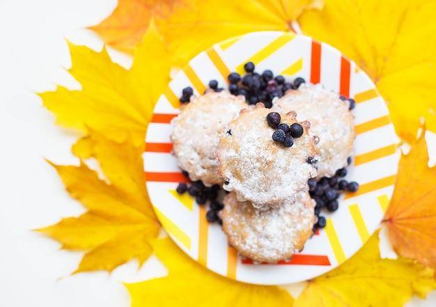 Belle torte con zucchero a velo