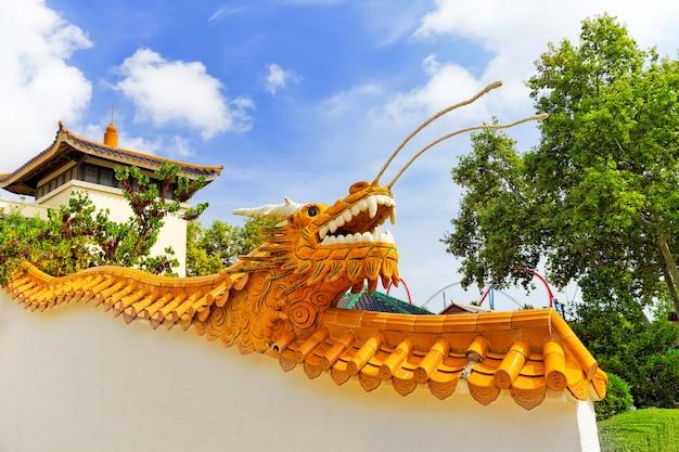 Bellissimo parco paesaggistico cinese.