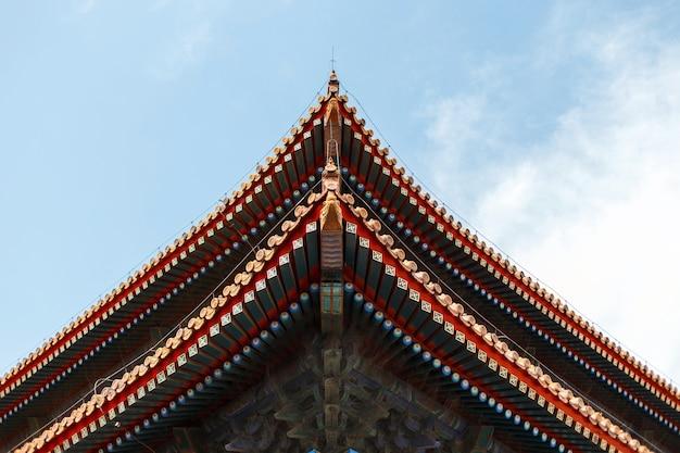 Bellissimo tetto cinese