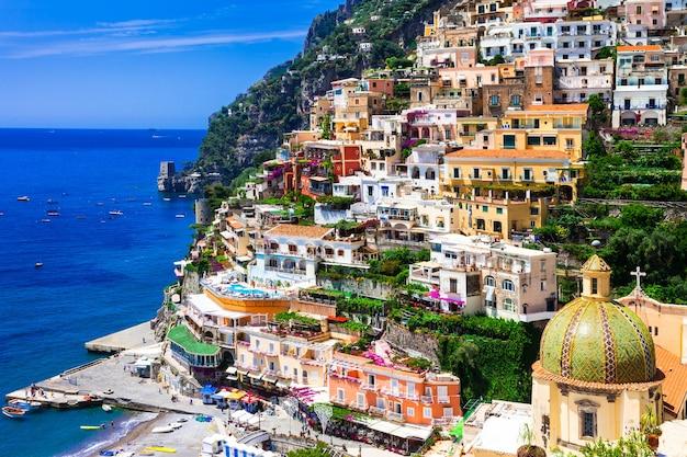 Bella e colorata città di positano