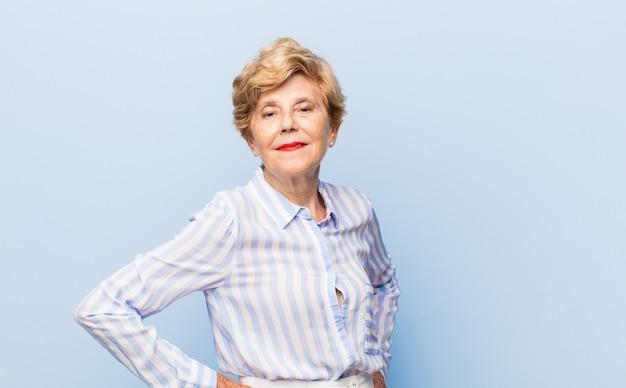 Bella donna anziana ritratto