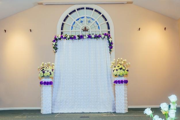 Bella decorazione di nozze di fiori