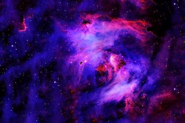 Una bellissima galassia nello spazio profondo. gli elementi di questa immagine sono stati forniti dalla nasa. per qualsiasi scopo.