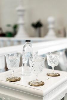 Bellissimo bicchiere d'acqua