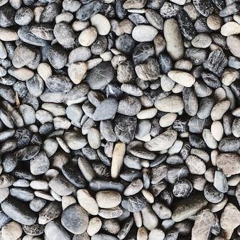 Belle rocce e pietre grigie, blu e bianche. bella trama e motivo