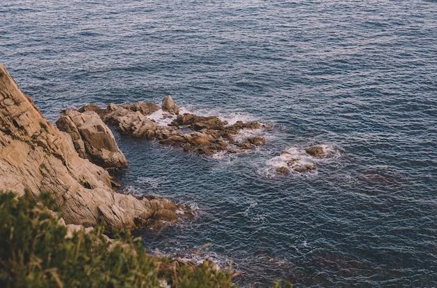 Bellissimo paesaggio sulla costa brava spagnola