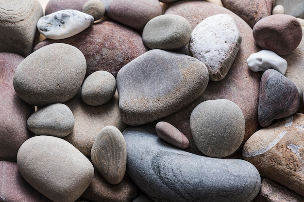 Bella macro rocce concetto