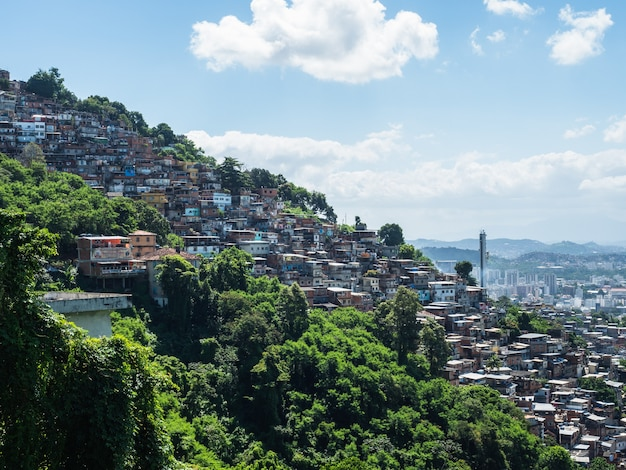 Bella e magica città di rio de janeiro e dei suoi luoghi famosi
