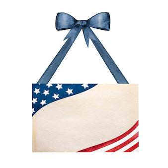 Bellissimo motivo con i colori della bandiera americana.