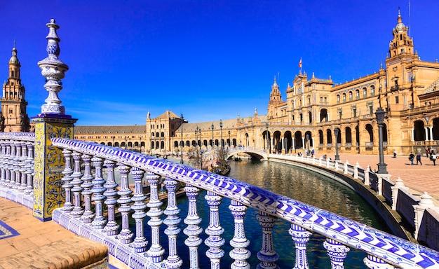 Bella plaza de espana.