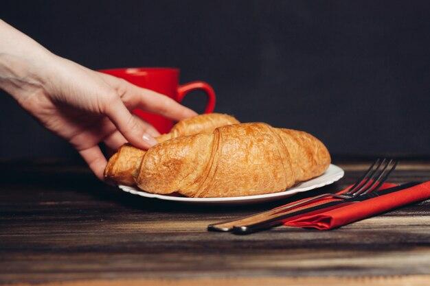 Splendida cornice per la colazione
