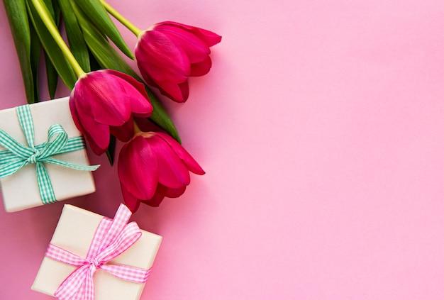 Bouquet di tulipani belli