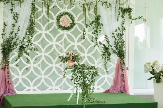 Bellissime decorazioni per matrimoni, fiori e dettagli