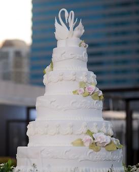 Splendida cornice di nozze
