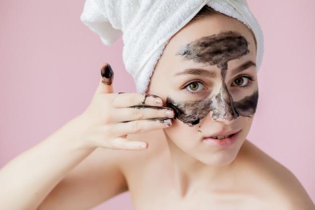 Peeling cosmetico di bellezza
