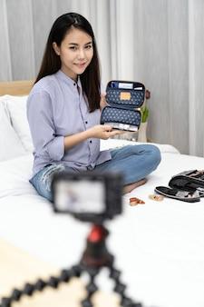 Vlogger influencer di bellezza