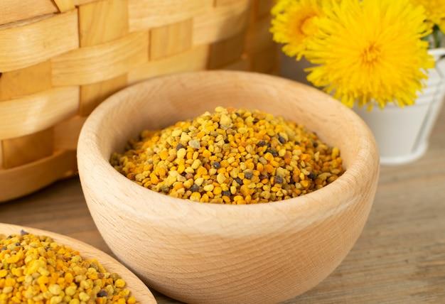 Grani di polline d'api o pane d'api