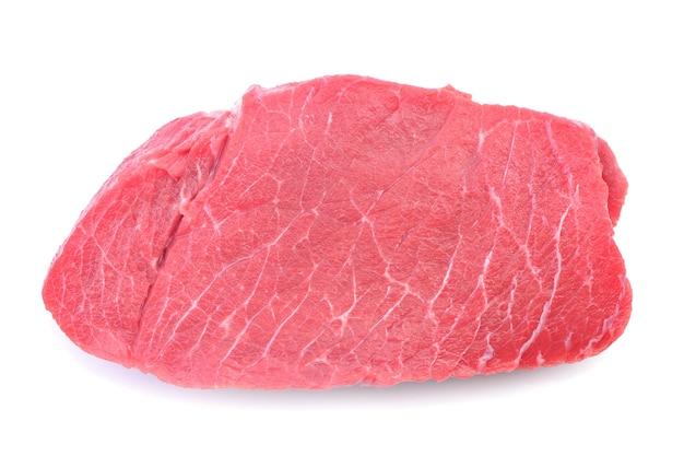 Bistecca di manzo isolata