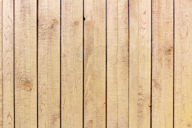 Struttura delle plance di legno verniciata beige