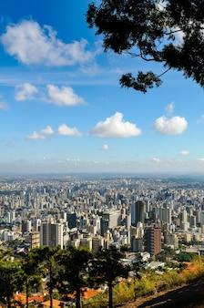 Belo horizonte minas gerais brasile veduta generale della città