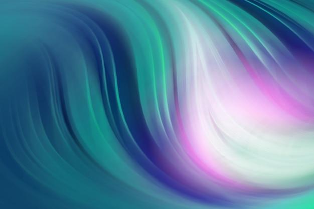 Piegare le curve con più gradienti di colore disegno di sfondo astratto