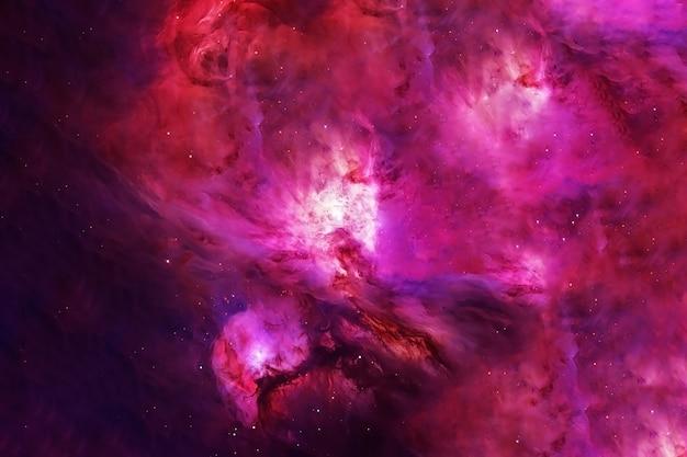 Grande bella galassia rosa. gli elementi di questa immagine sono stati forniti dalla nasa. foto di alta qualità
