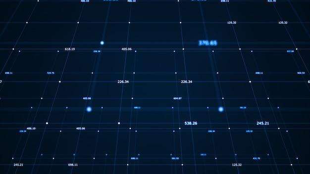 Visualizzazione di grandi quantità di dati. algoritmi di apprendimento automatico.