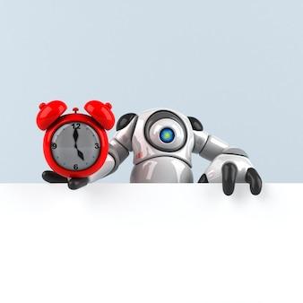 Grande robot - illustrazione 3d