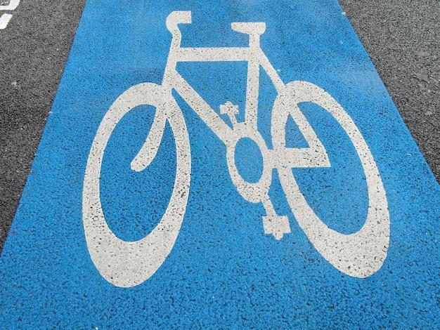 Segnale pista ciclabile