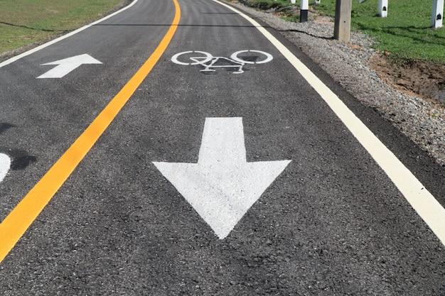 Corsia per le bici